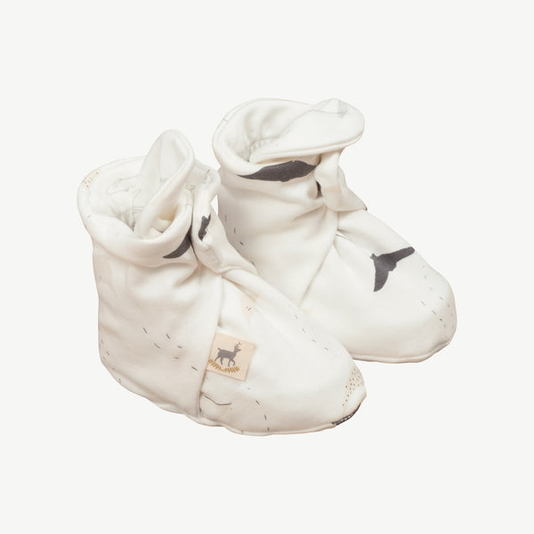 'ocean voyagers' eco white booties