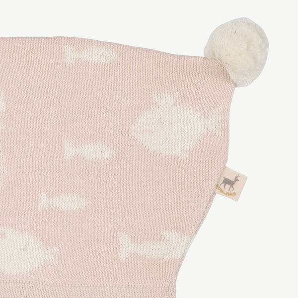 'stranger fish' heavenly pink knit bonnet