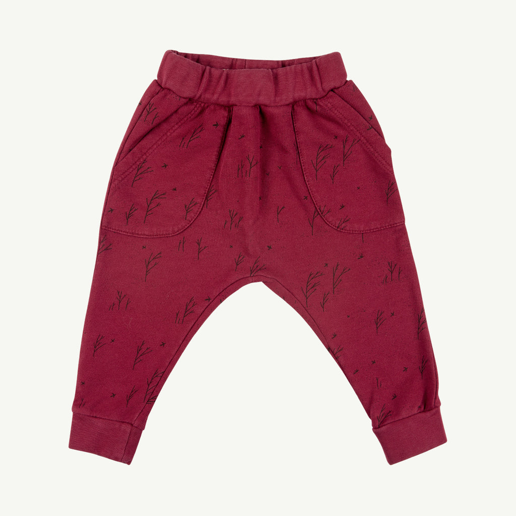 'winter storm' tibetan red jogger