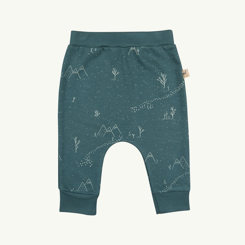 'yeti tracks' balsam baggy pants