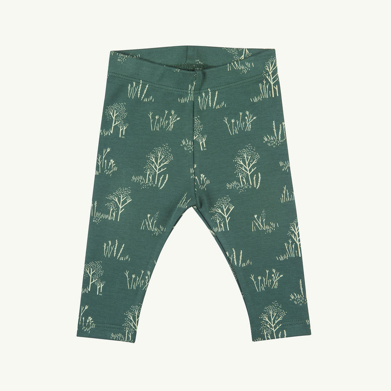 'the tundra' garden topiary leggings