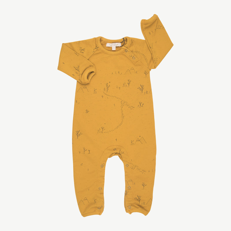 'yeti tracks' arrowood french terry jumpsuit