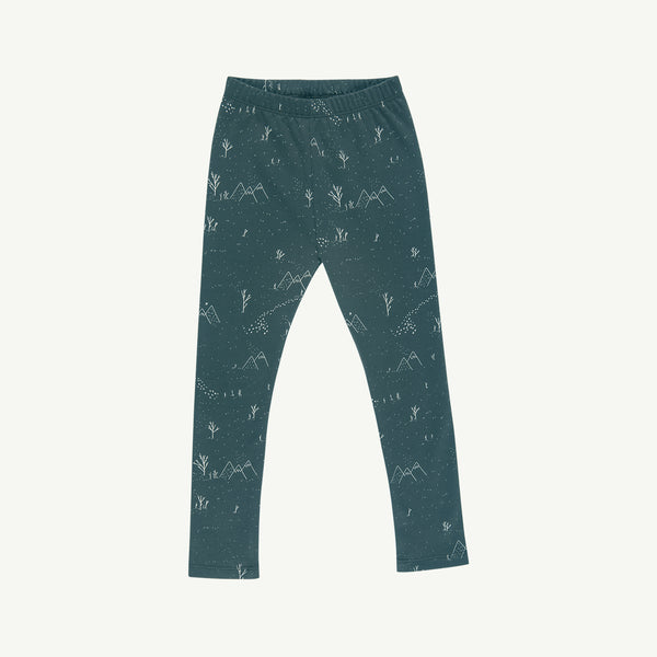 'yeti tracks' balsam leggings