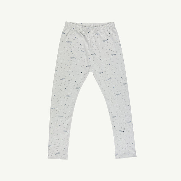 'bright stars' sky gray leggings