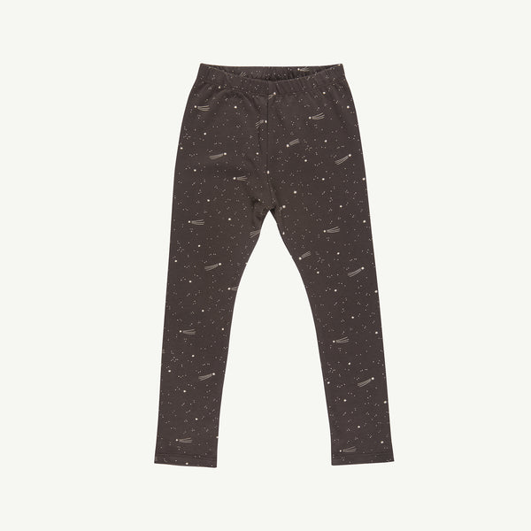'bright stars' turkish coffee leggings