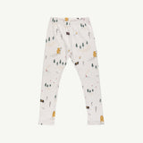 'up the mountain' white sand leggings