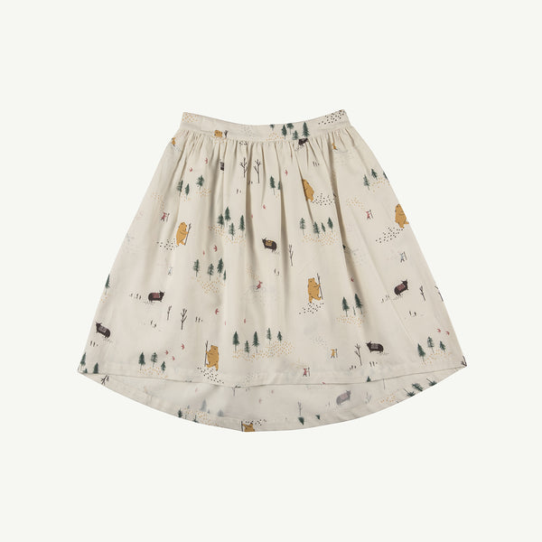 'up the mountain' whisper white skirt