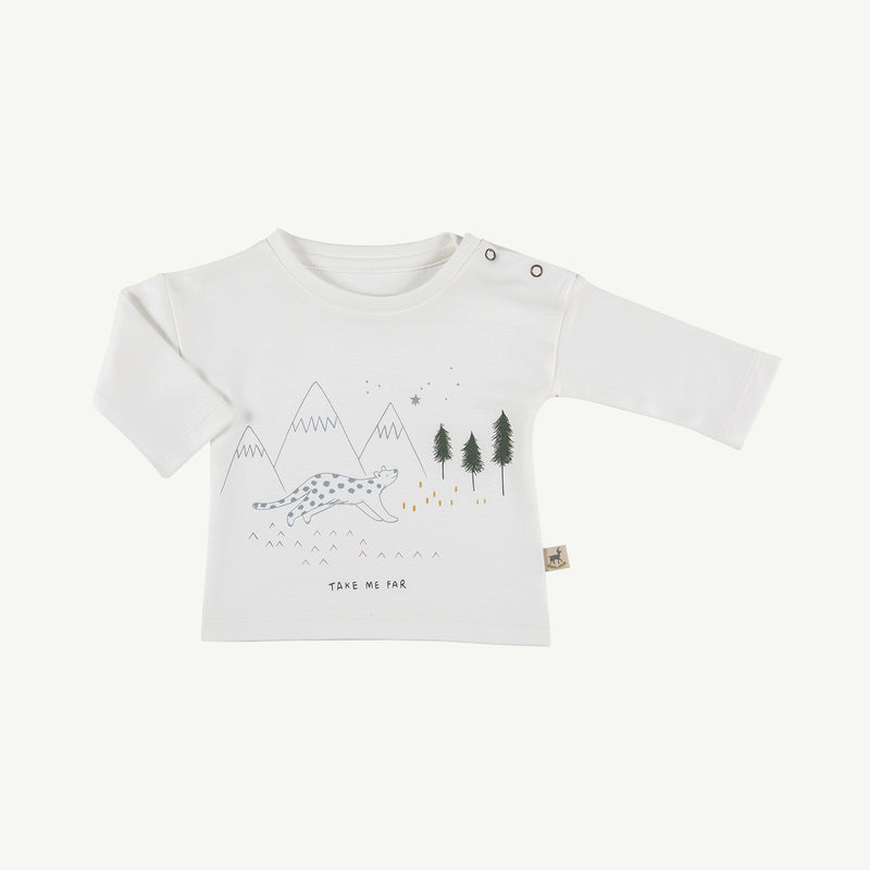 'take me far' organic t-shirt