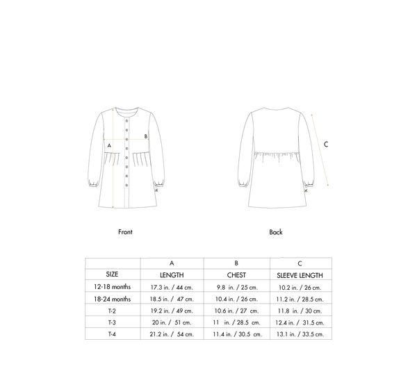 'tundra bear' ivory shirt dress