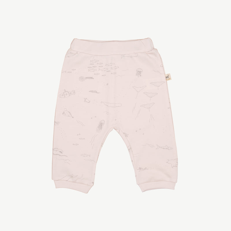 'the story' heavenly pink basic pants