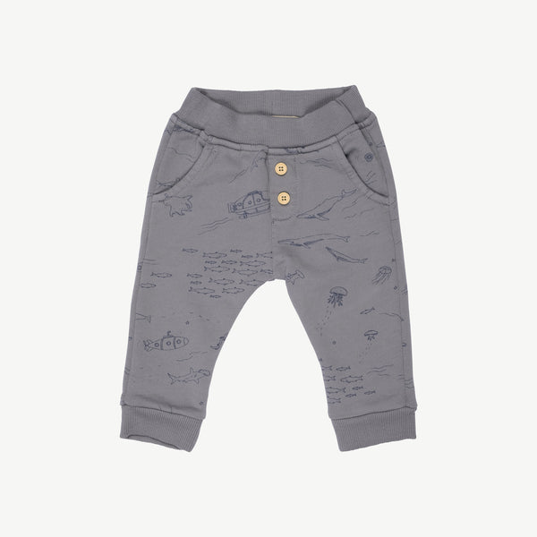'the story' charcoal gray	jogger
