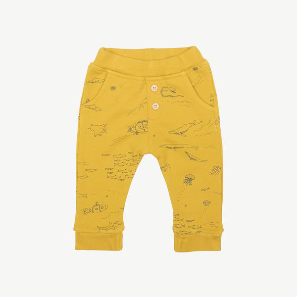 'the story' mustard jogger