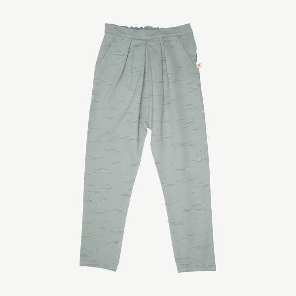 'tides & stars' chinoise green trousers