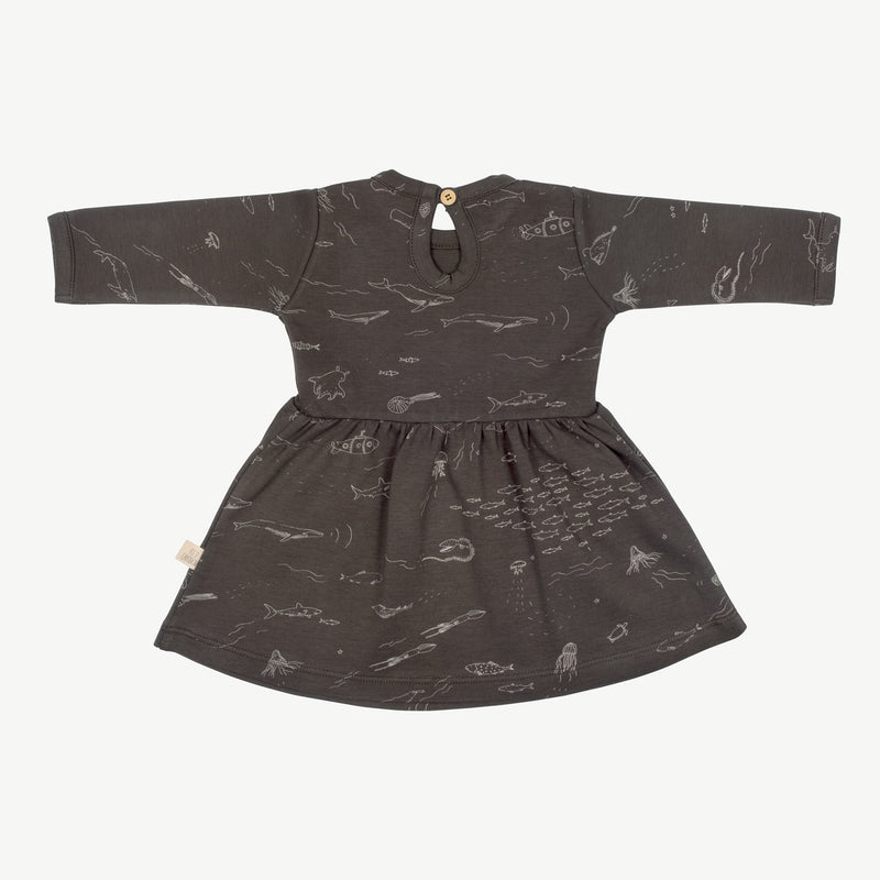 'the story' raven baby dress