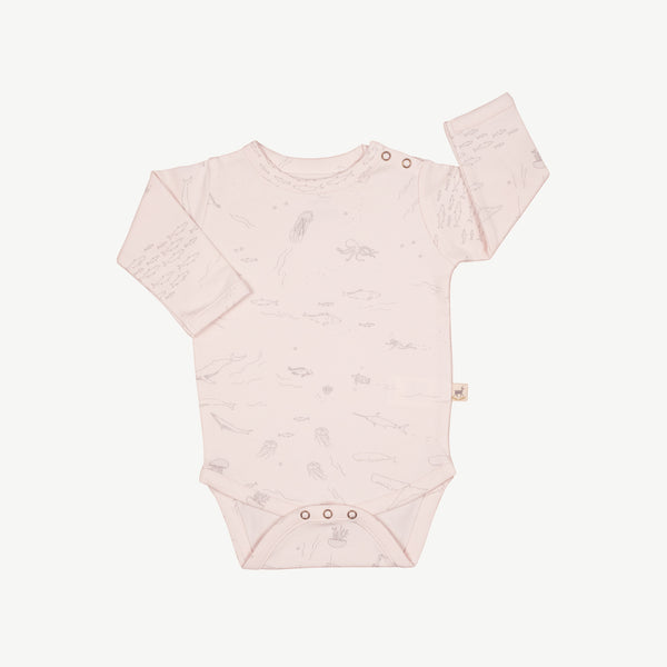 'the story' heavenly pink onesie
