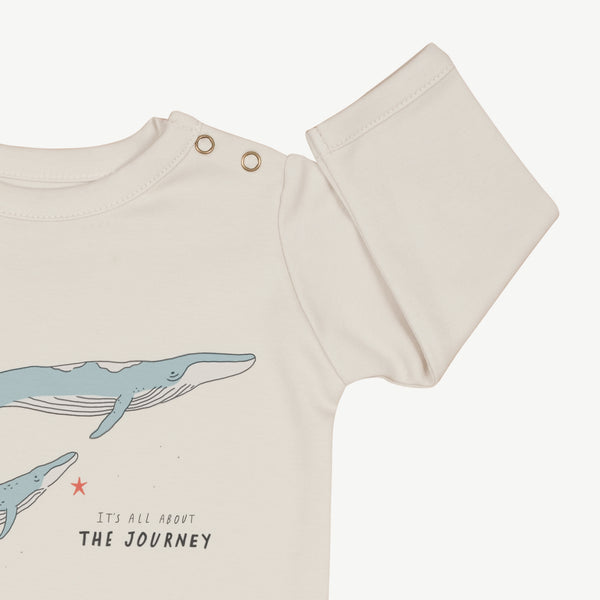 'the journey' glacier grey onesie