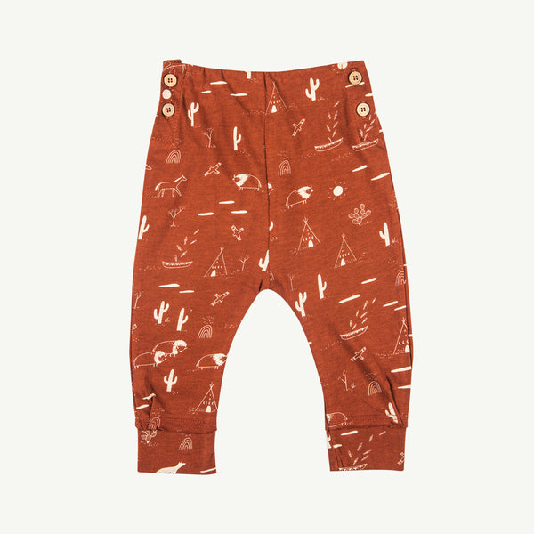 'native desert' picante buttons pants