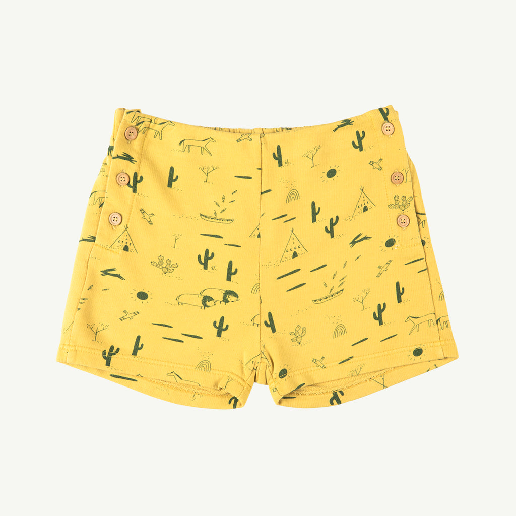 'native desert' bamboo french terry shorts