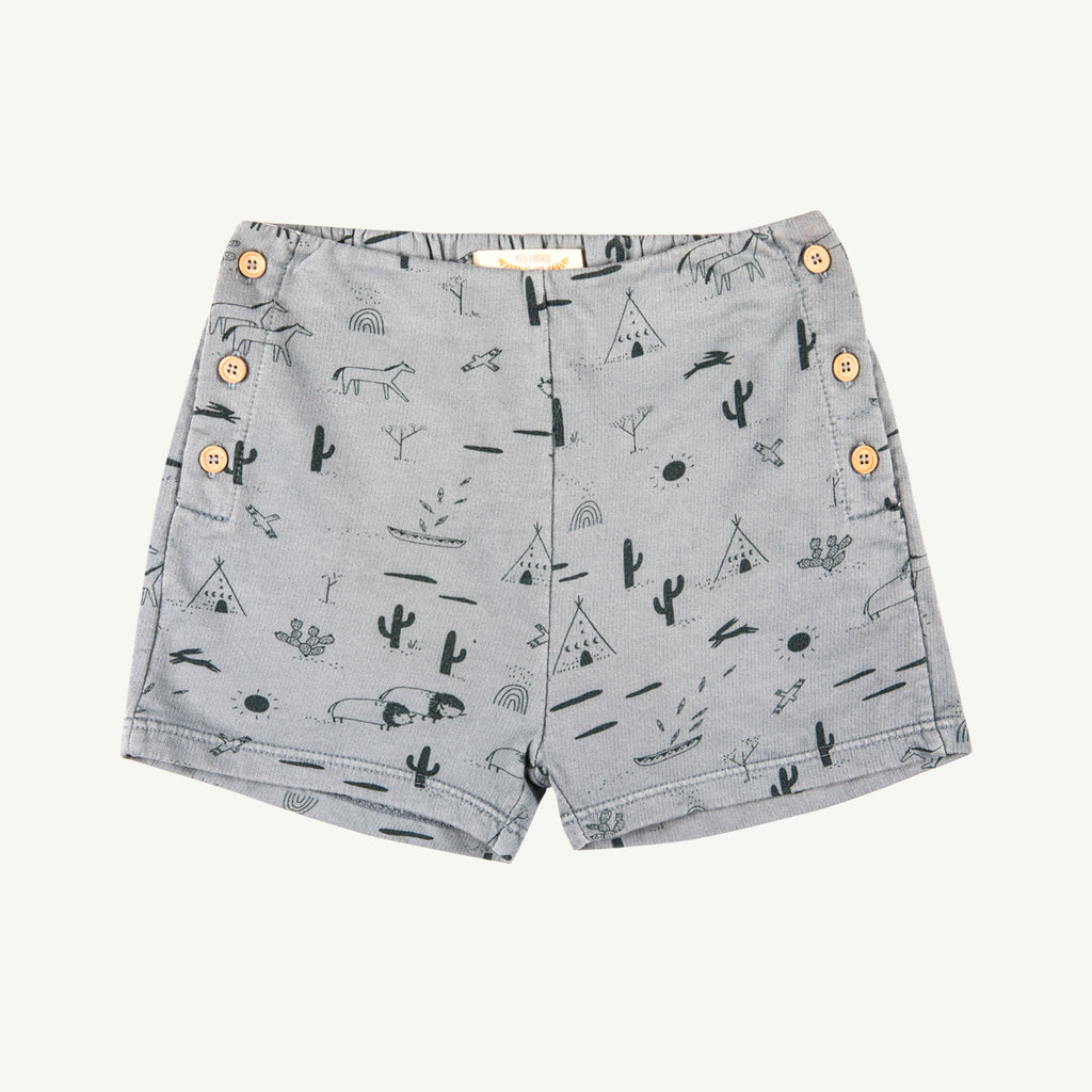 'native desert' lead french terry shorts