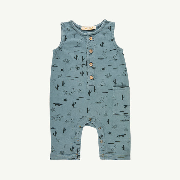 'native desert' lead french terry romper