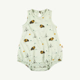 'shaggy bison' green lilly baggy onesie