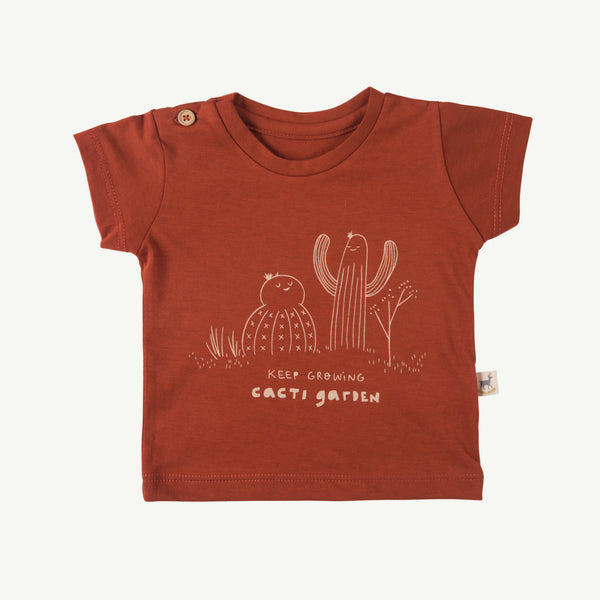 'keep growing' picante round neck t-shirt