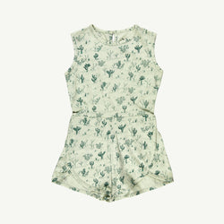 'cacti garden' green lilly runner romper
