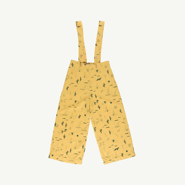 'native desert' bamboo woven wide leg overall