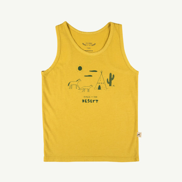 'magic in the desert' bamboo tank top