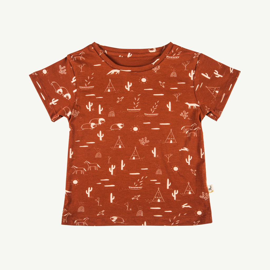 'native desert' picante round neck t-shirt
