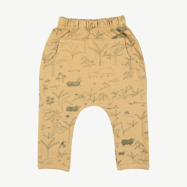 'the story' ochre jogger