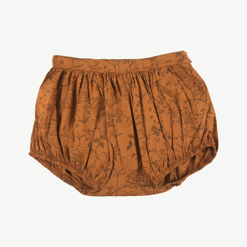 'the canopy' glazed ginger woven shorts