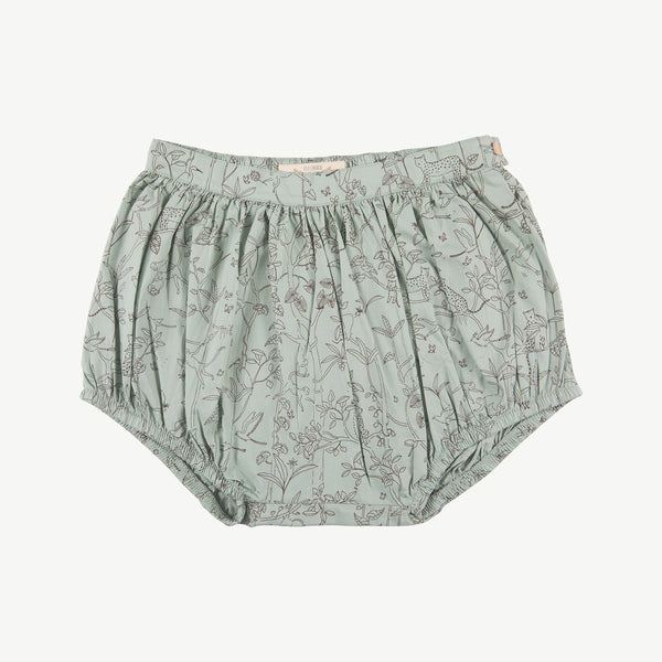 'the canopy' jadeite woven shorts