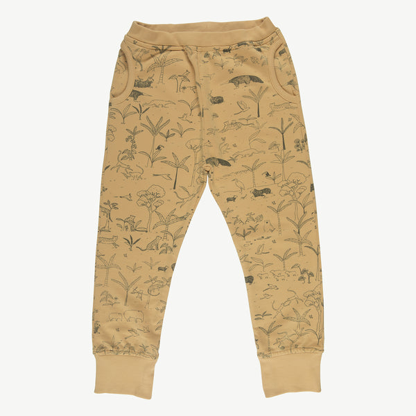 'the story' ocre jogger