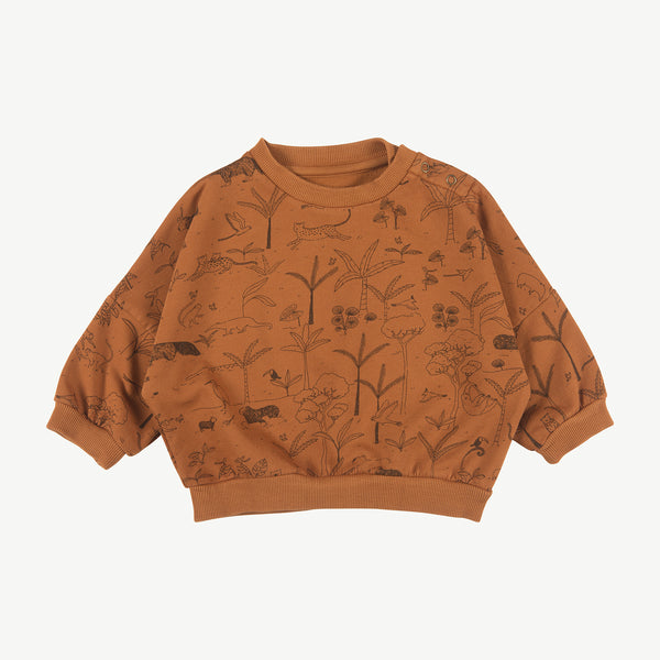 'the story' glazed ginger sweatshirt