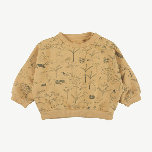 'the story' ocre sweatshirt