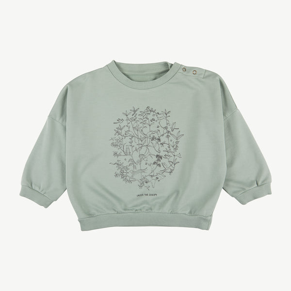 'under the canopy' jadeite sweatshirt
