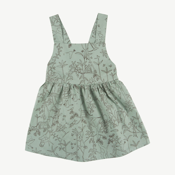 'the canopy' jadeite woven dress