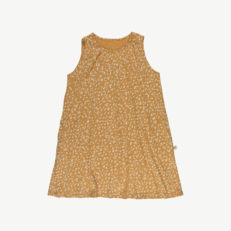 'rainforest foliage' spruce yellow dress