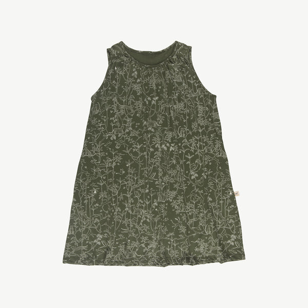 'the canopy' chive dress