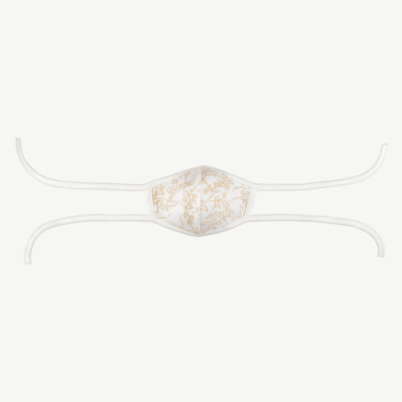 'the canopy' eco-white face mask