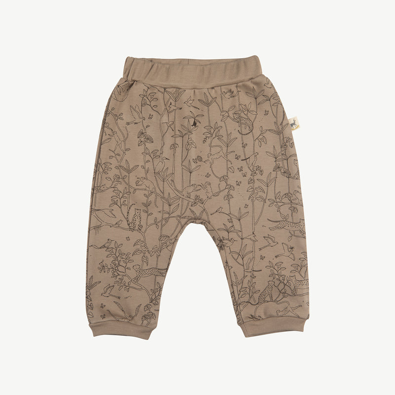 'the canopy' taupe baggy pants