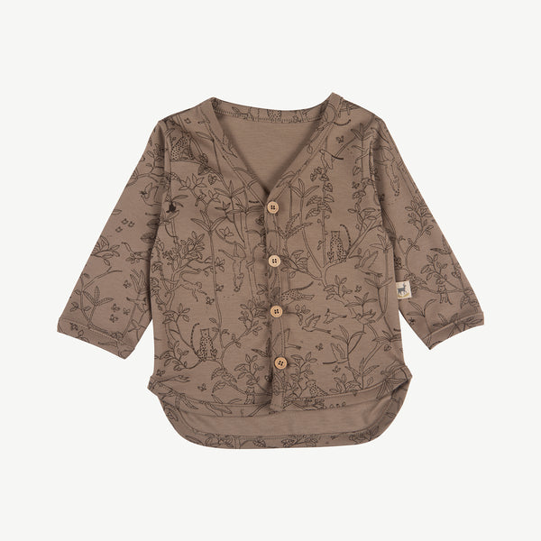 'the canopy' taupe cardigan
