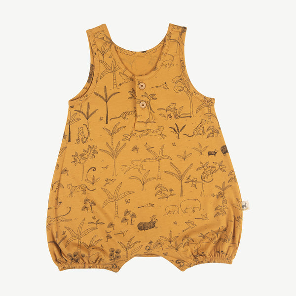 'the story' spruce yellow romper