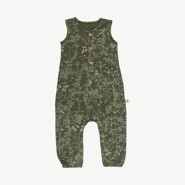 'the canopy' chive tank jumpsuit