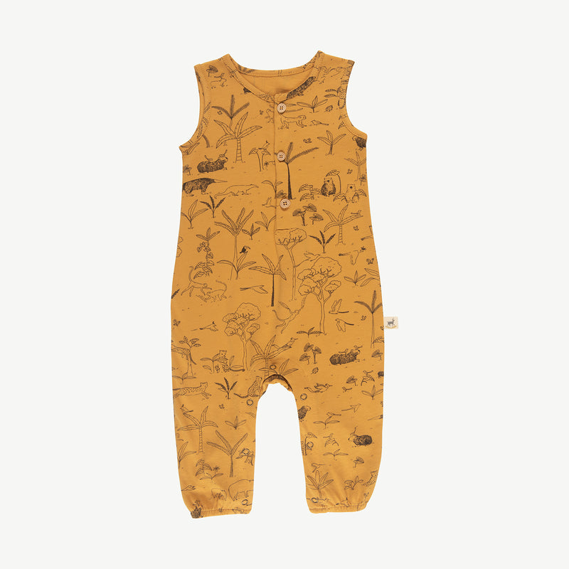 'the story' spruce yellow tank jumpsuit