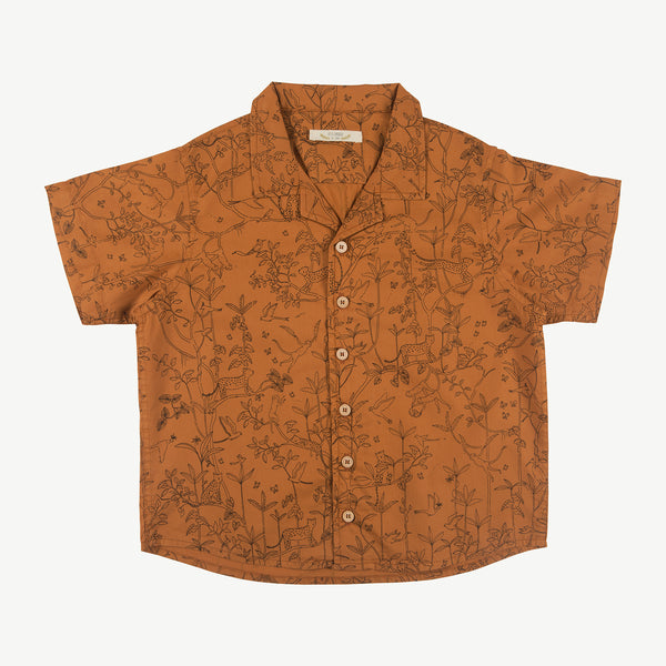 'the canopy' glazed ginger shirt