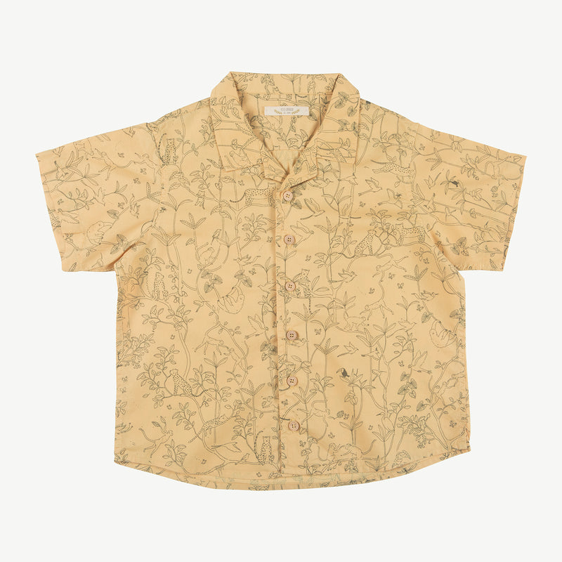 'the canopy' ocre shirt