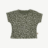 'rainforest foliage' chive t-shirt