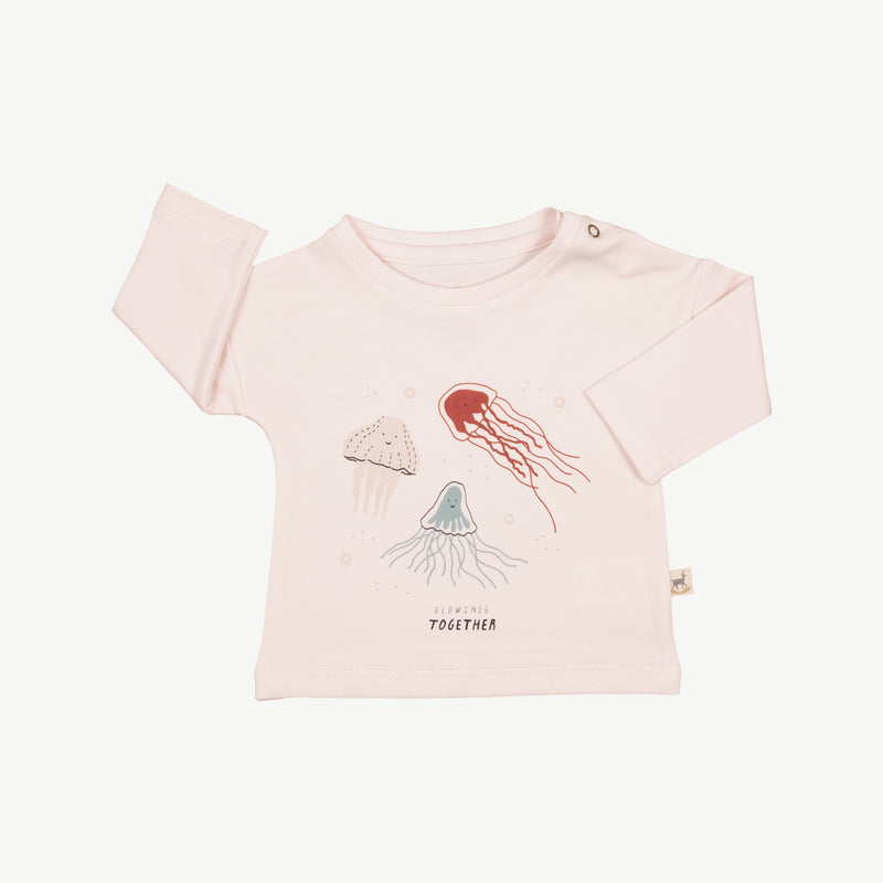'glowing together' heavenly pink t-shirt